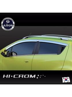 Aletas Bota Agua Cromadas Chevrolet Spark GT