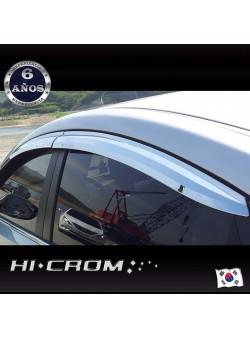 Aletas Bota Agua Cromadas Hyundai Elantra MD