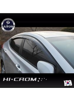 Aletas Bota Agua Negras Hyundai Elantra MD