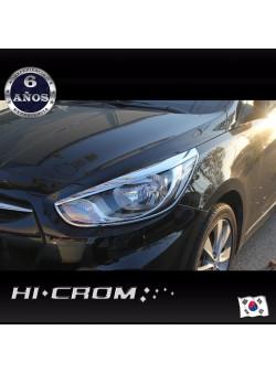 Cubre Focos Delanteros Hyundai Accent RB