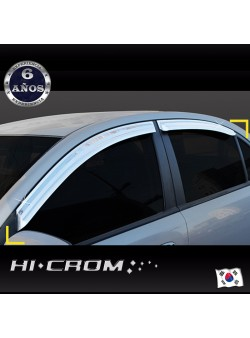 Aletas Bota Agua Cromadas Hyundai Accent
